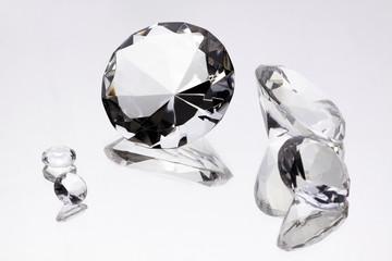 Gemstone on mirror