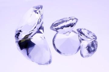 Jewels on mirror