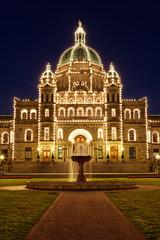 Parlament von Victoria auf Vancouver Island, Kanada