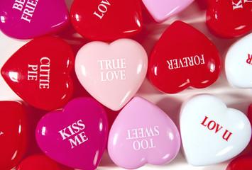 true love valentine hearts
