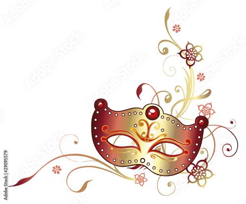 Faschingsmasken Clipart Von Blumen Signfromconcno Cf