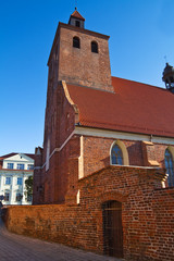 Catholic church in Grudziadz - Poland