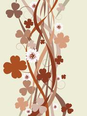 Four leaf clover card