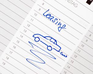 Auto Leasing - Car Leasing - Concept