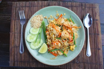 Thai food ,Phad Thai Noodles