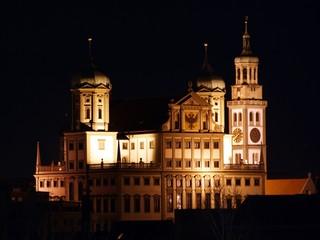 Augsburg Rathaus und Perlachturm - City Hall