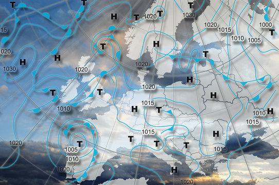 weather chart europa