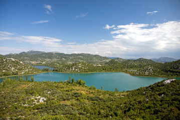 Baćina lakes (Baćinska jezera) in Croatia