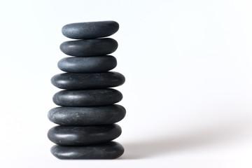 Steine mit weichen Rundungen