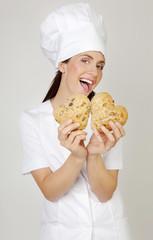 gesunde backwaren von Bäckerin