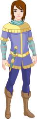 Printed kitchen splashbacks Fairytale World Prince charming