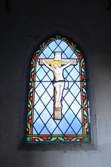 Foto op Plexiglas Stained Cimetière-du-Père-Lachaise:Vitrail