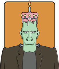 Frankenstein's Birthday - even monster's love a party!