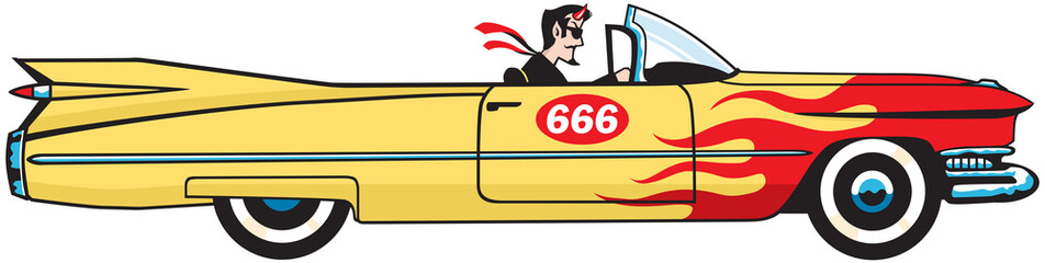 Satan Goes For A Drive