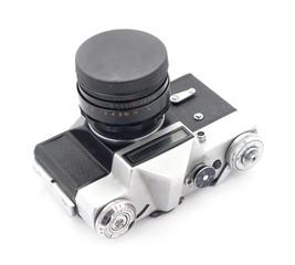 Retro SLR camera