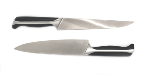 Knives isolated on white