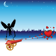 The cannon of love