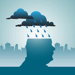 Raining in my mind
