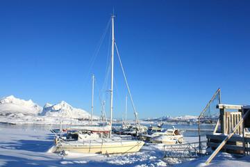 Arctic sailboats