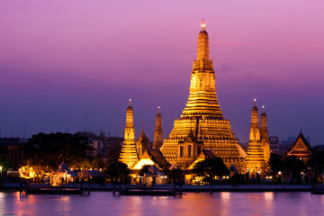 Papiers peints Bangkok Wat Arun (Temple de l'Aube), Bangkok, Thaïlande