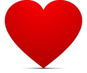 grand coeur amoureux