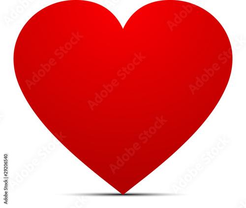 Grand coeur amoureux fichier vectoriel libre de droits - Coeurs amoureux ...