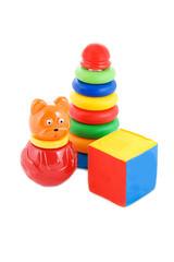 Set of kids toys