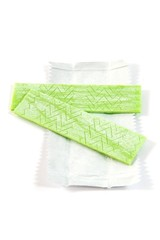 Green chewing gum