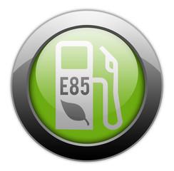 """Metallic Orb Button """"E85 Ethanol"""""""