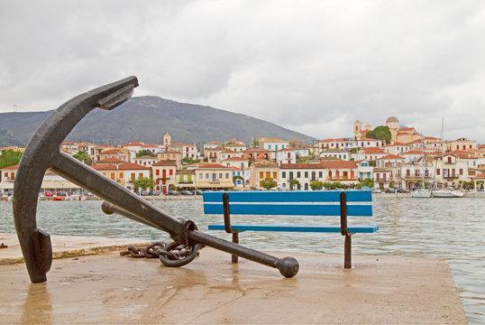 Anchor and Galaxidi Town