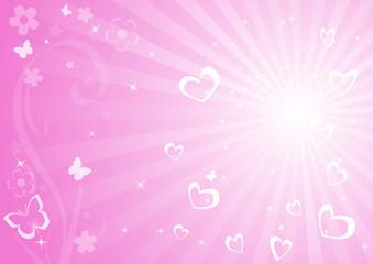 Vector valentine background