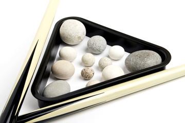 Billiard stone balls