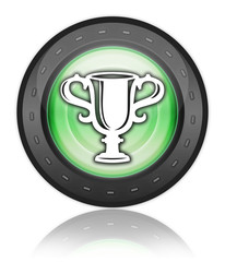"Green Industrial Style Icon ""Award Cup"""