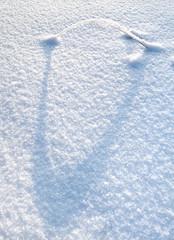 Fototapete - Snow arc