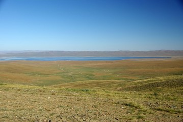 Paysage, Mongolie