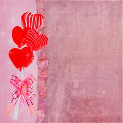 valentine lollipop