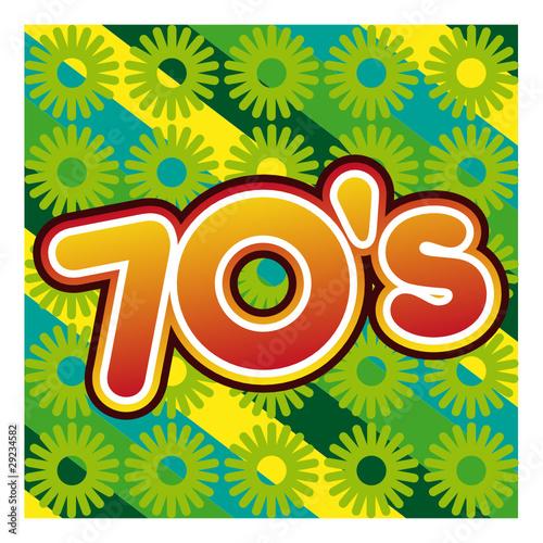 Ann es 70 seventies pop hippie disco kitsch musique poque stock image and royalty free vector - Photo annee 70 ...