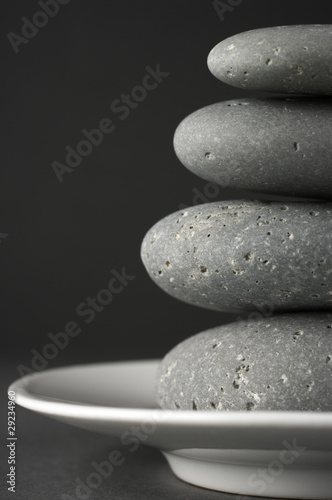 Wall mural Stack of stones