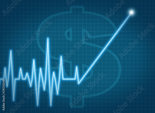 Savings Investment Growth Chart Financial Symbol Stock Photo And