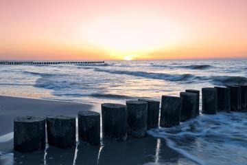 Fototapete - sunset