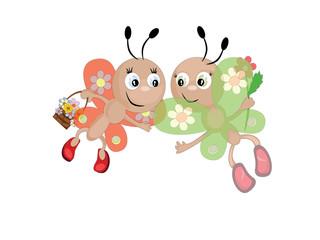 Butterflies,CMYK