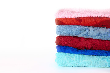A stack of towels