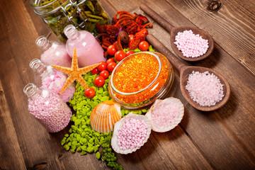 Spa minerals - aromatherapy
