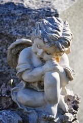 Gravesite - Angel on tombstone