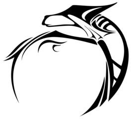 Tattoo Drachentribal