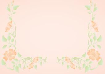 vector flowers on