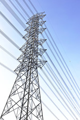 power line electric tower