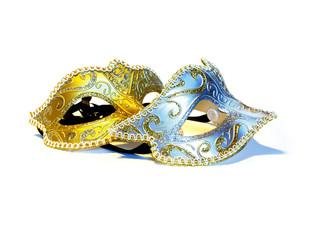 Pair of masquerade party masks