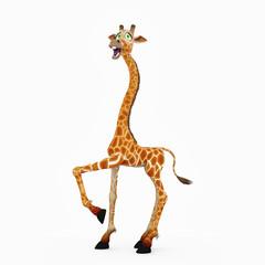 giraffe cartoon walk this way