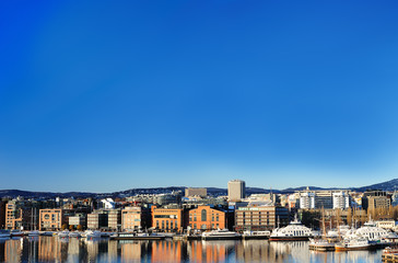 View of Oslo city